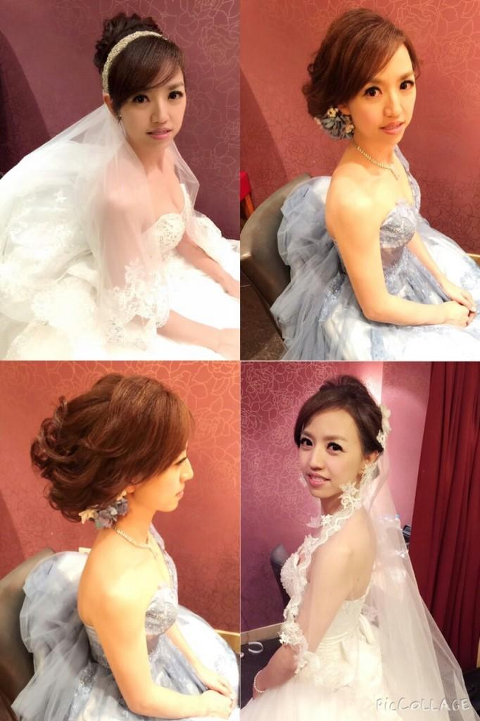 新祕推薦:新娘包頭與盤髮