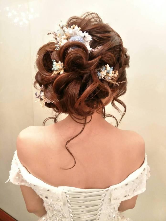 新娘宴客造型分享:新娘秘書千越推薦